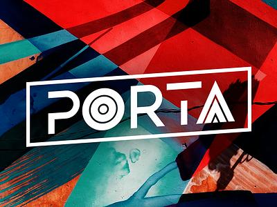Porta Font webfont ui typography typeface swiss design smooth modern minimalist futuristic elegant creative bold