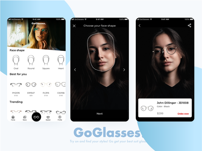 GoGlasses - Try on and find your styles!