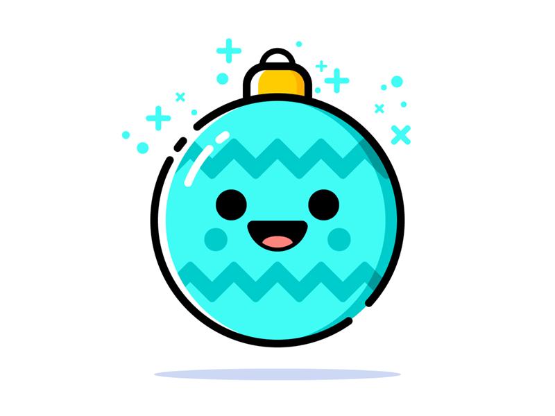 Happy Christmas Globe vector illustration cute decoration christmas tree christmas ball christmas ornament christmas globe christmas