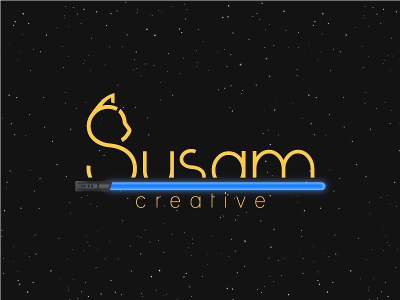May The 4th Be With You, Susam Creative logo may the 4th be with you star wars day force star sith jedi lightsaber star wars