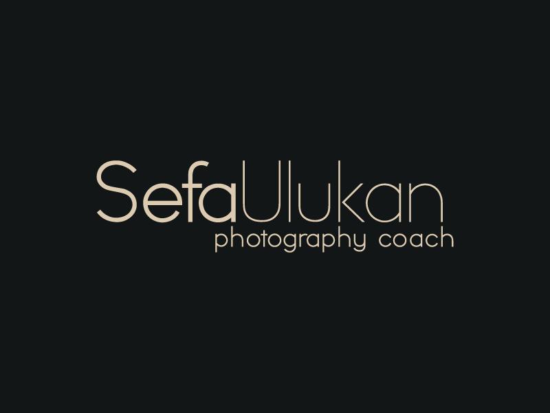 Sefa Ulukan - Logo Design dark background photography photographer typeface personal branding branding logo design logo