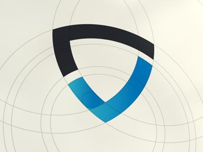 G Safety logo check safe shield blue web mark icon design geometry branding safety