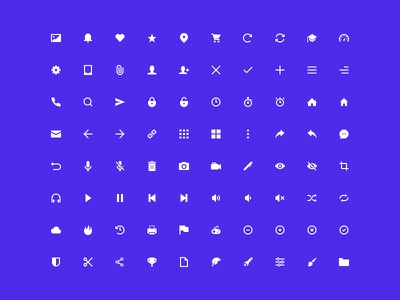 Geoph ui web vector collection psd ai pack free icon