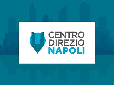 Proposed Logo for Naples Centro Direzionale app space city brand direzionale centro napoli urban logo