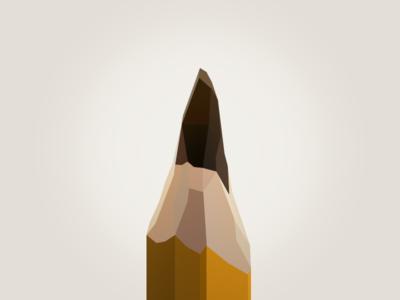 Polygon Pencil sketch pencil polygon