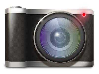 Camera glow lens camera