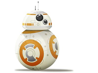 BB-8 drawing sketch droid bb8 starwars
