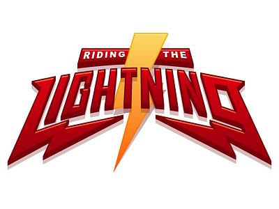 Riding the Lightning sketch lightning logo