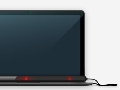 Tobii Eye Tracking computer ir macbook eye tracker tobii