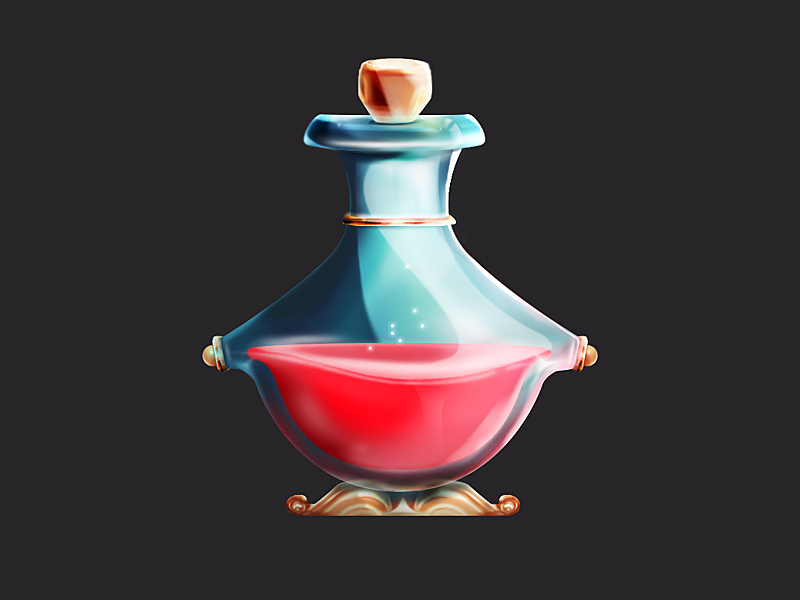 Magic Potion design game