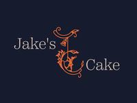 Jake's Cake Logo Design
