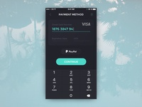 DailyUI #02 - Payment Method
