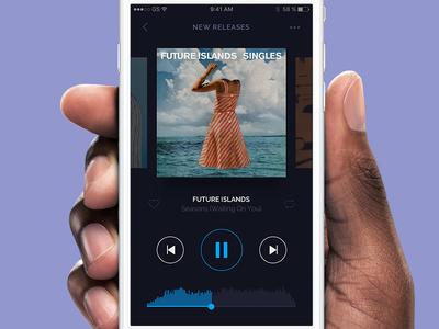 DailyUI #09 - Music Player