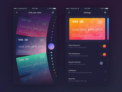 Banking App - Settings