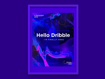 Hello Dribble Poster