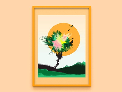 Abstract poster: Summer