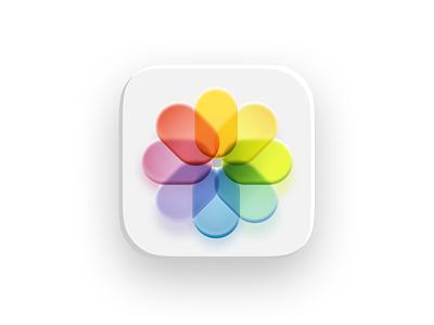 App Icons designtrends neomorphism neumorphic minimalistic minimal ui user interface finder weather app application icon mac os macbook imac osx ios bigsur application photo app