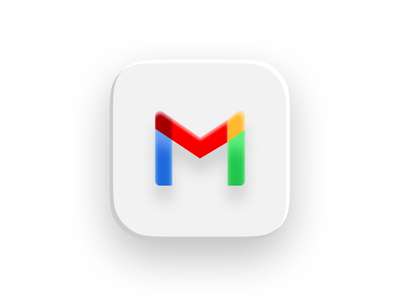 More BigSur App Icons colorful color interaction logo google mail gmail google user interface ux ui design iconography icon app icons application apps apple macbook