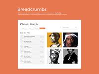 Breadcrumbs / DailyUI challenge #56