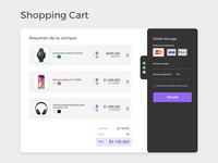 Shopping Cart / DailyUI challenge #58