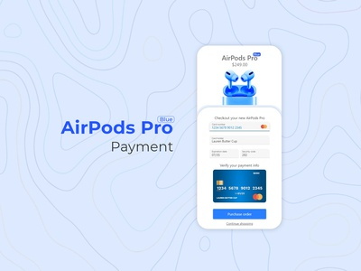 AirPods Pro / Payment / Dalilyuichallenge #2
