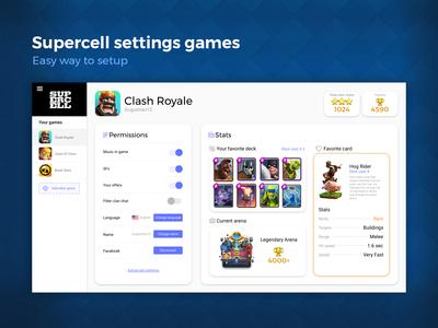 Supercell Settings Setup / Dalilyui challenge #7