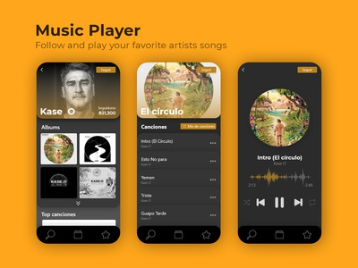 Music player / Dalilyui challenge #9