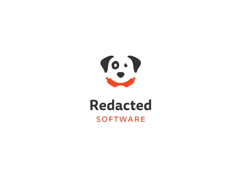 Dog Logo Proposal logo mark identity brand proposal dog hot dog sausage meat software