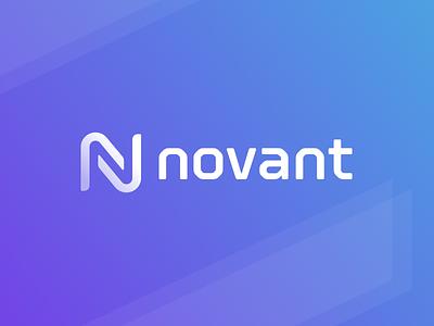 Novant Branding tech gradient hardware n logo branding symbol identity mark logo