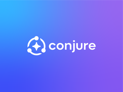 Conjure Logo improve health branding brand symbol identity mark logo