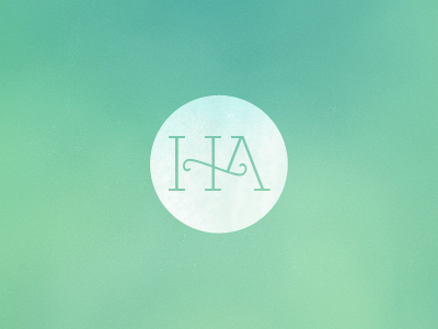H A Monogram logo monogram identity eksja