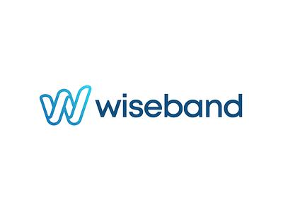 Wiseband Branding identity mark gradient symbol branding brand logo monogram letter w music song band