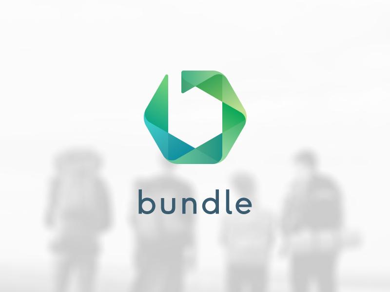 Bundle hexagon mark logo dutch aperture b