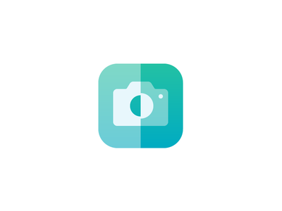Pushh Logo/Icon app icon logo mark fitness health photo picture camera