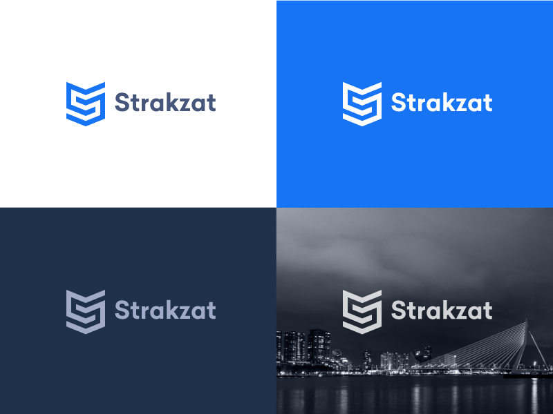Strakzat logo usage