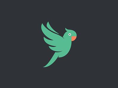 Parrot Logo #2 feather beak lorikeet lori ara parrot parakeet