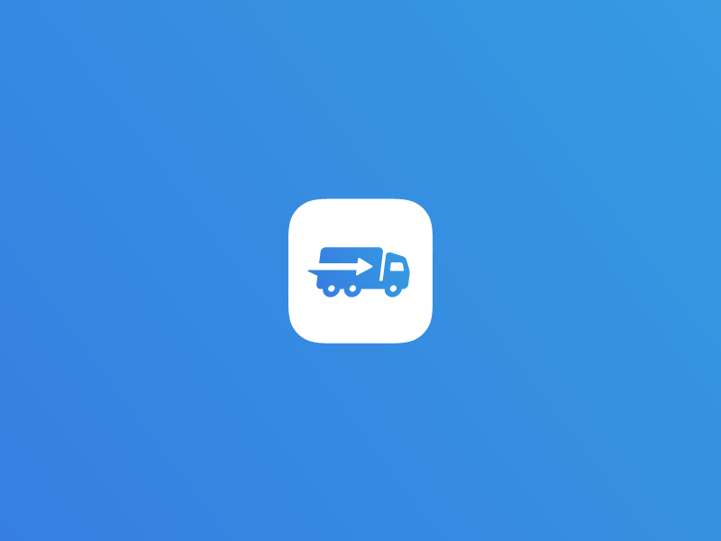 Truck Logo/Icon - Final Version traffic navigate load wheels freight drive car truck