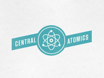 Central Atomics Proposal 2 logo identity atom