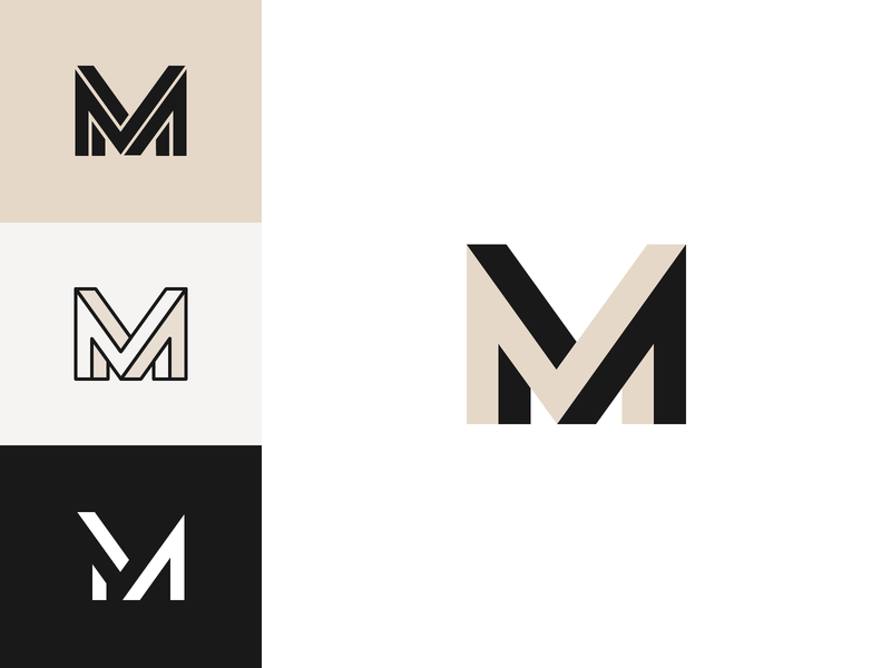 Marciano - Logo Variations impossible monogram symbol