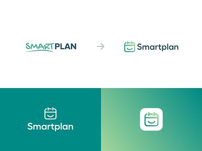 Smartplan - Logo easy smile happy planning plan schedule