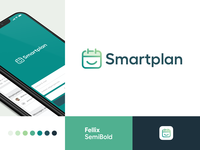 Smartplan - Logo easy smile happy planning plan schedule