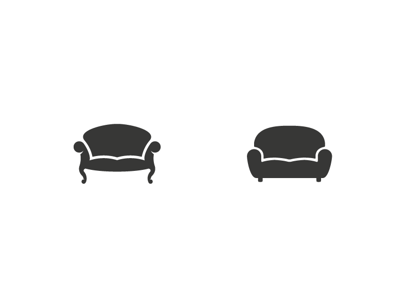 Couch Logos Which One By Jord Riekwel Dribbble Dribbble