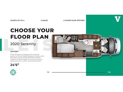 Motorhome Floor Plan post social media branding floorplan