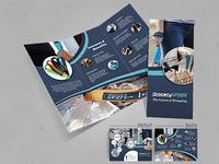 Tri-Fold Brochure - Grocery Gripps