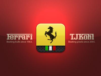Ferrari Icon ferrari enzo lamborghini ios iphone ipad icon italy racing horse italia