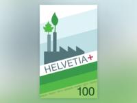 Swiss Stamp / Eco