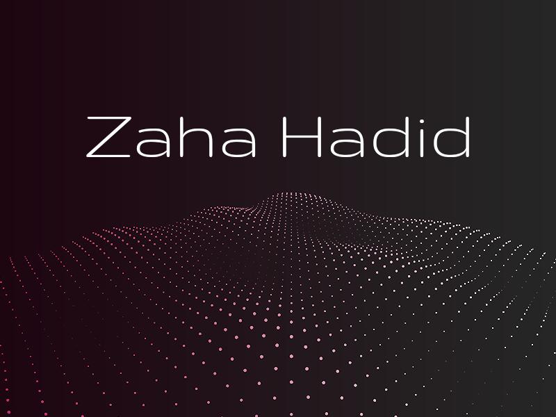 Zaha Lives On by TJ Kohli on Dribbble