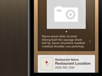 Restaurants App Concept