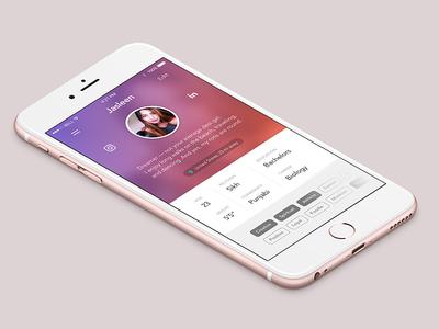 Dil Mil - Profile app iphone ios media social profile dating