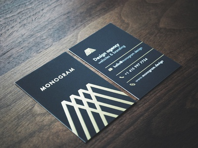 Business Cards business cards card gloss gold physical design agency print
